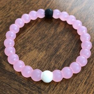 """LOKAI """"Breast Cancer Research"""" Pink Bracelet"""